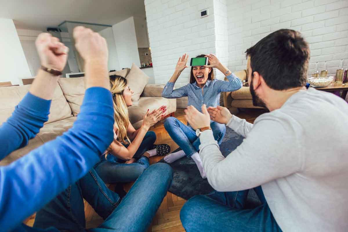 gezelschapsspel met vrienden