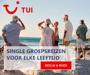TUI single groepsreizen 50plus