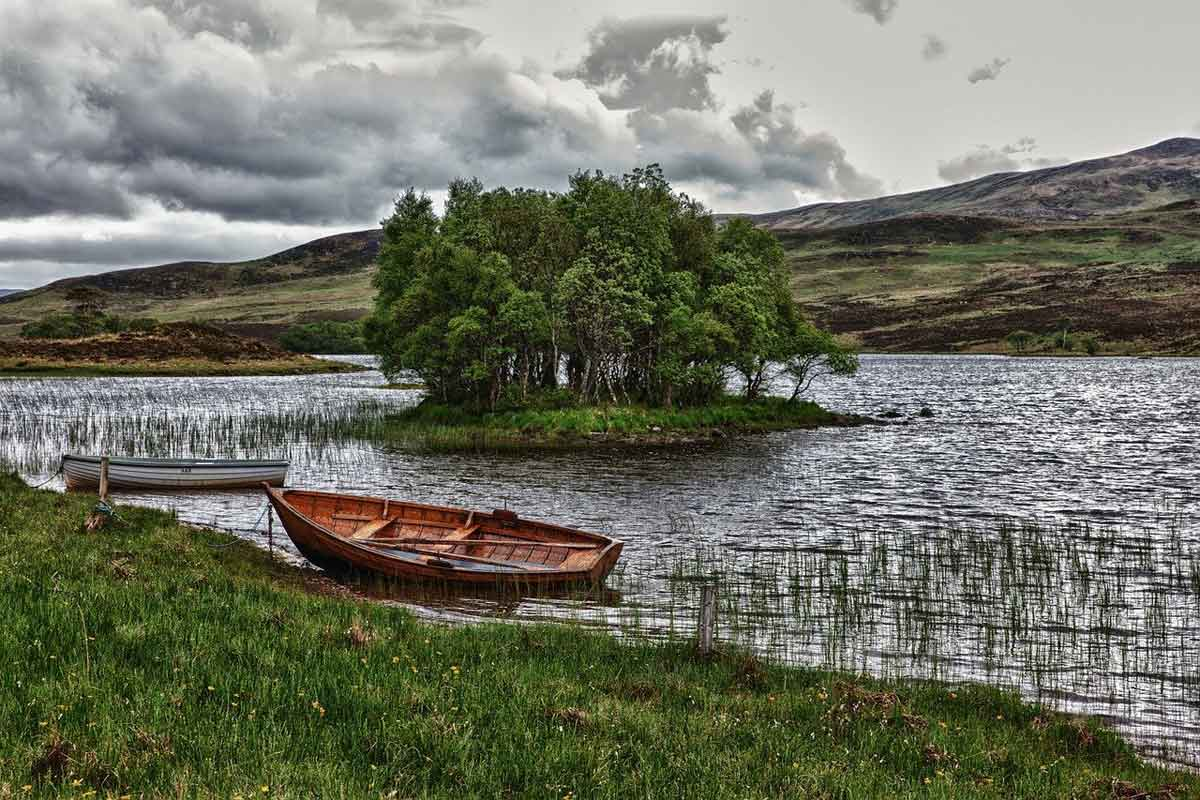 Schotland wateren binnenland